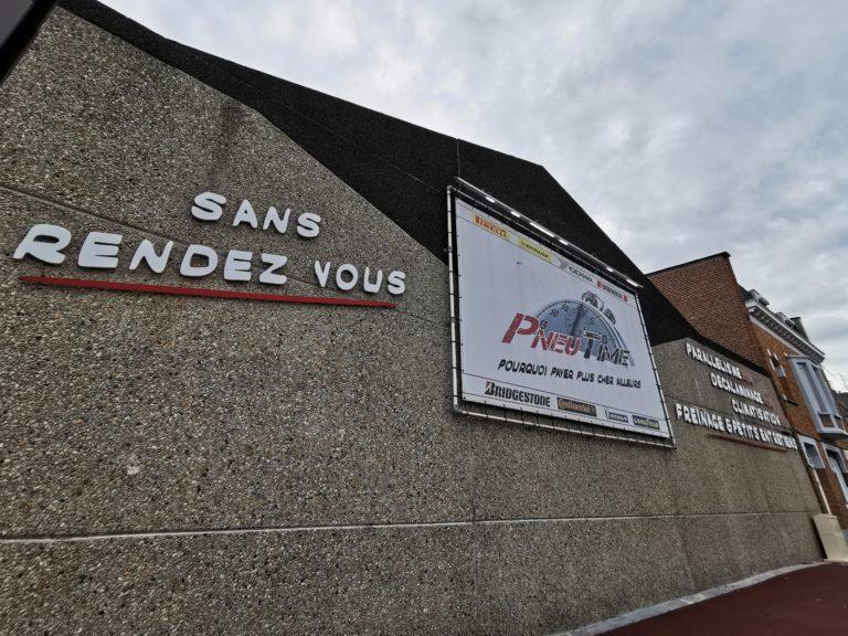 Façade PneuTime Tourcoing